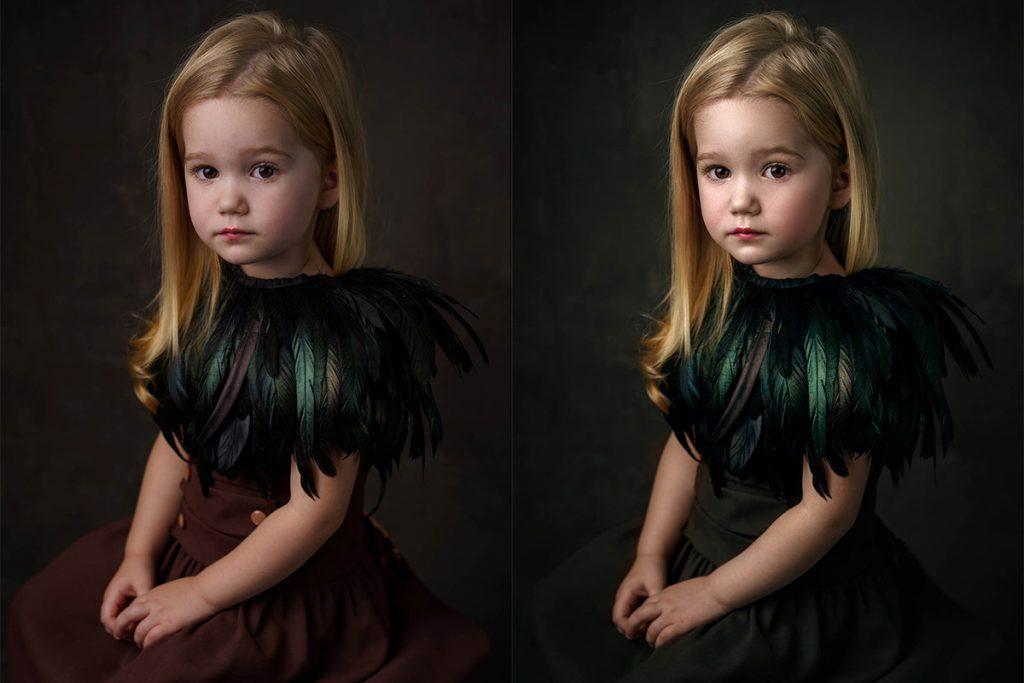 Fine art portré retus Photoshop tutorial videó