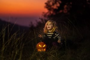 Halloween kék óra