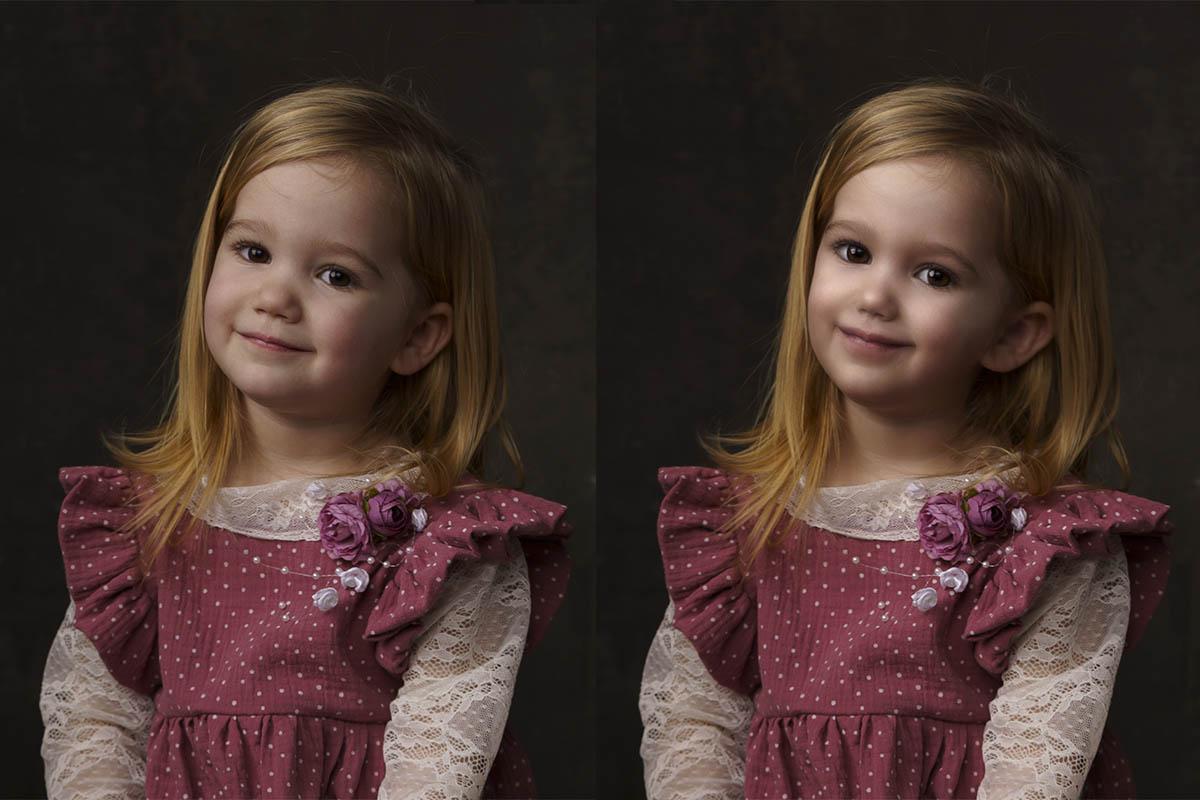 Photoshop portré retus hibák