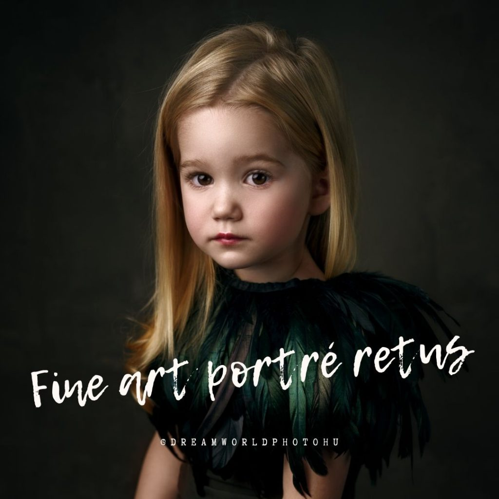 Fine Art portré retus Photoshop tanfolyam