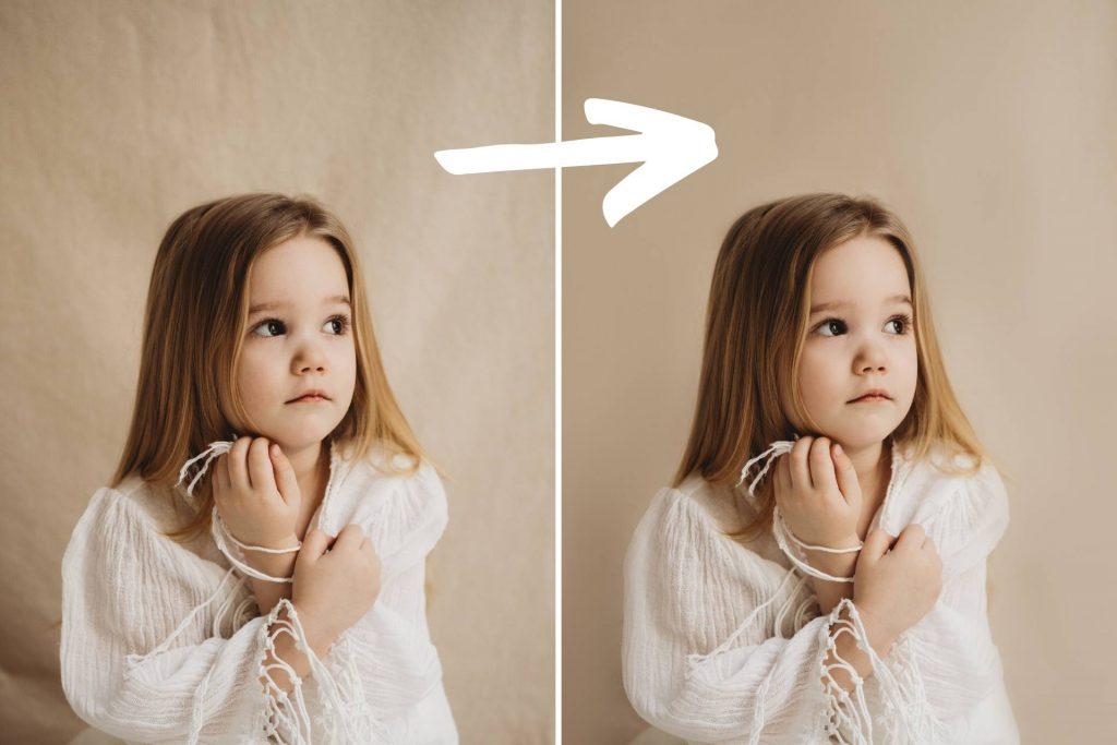 Photoshop tutorial frekvencia szeparáció