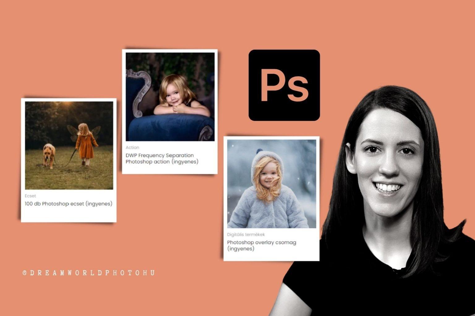 ingyenes photoshop overlay ecset brush action